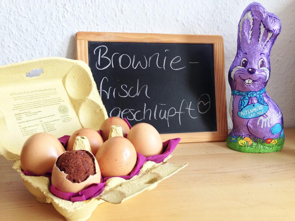 Brownies – frisch geschlüpft