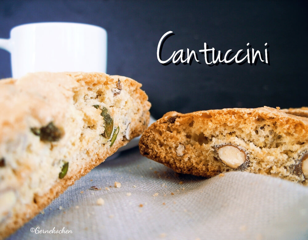 Cantuccini mit Pistazien