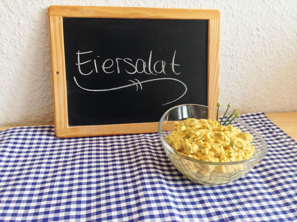 Eiersalat – Aromatisch mit Curry und Schnittlauch