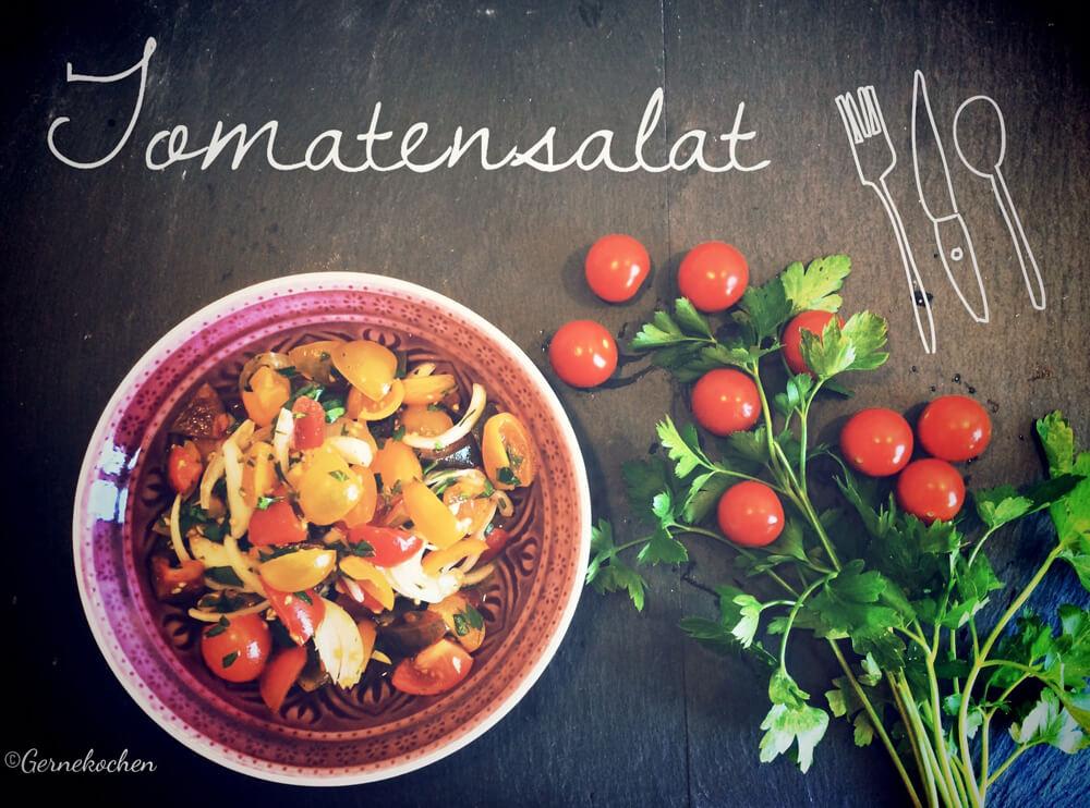 Tomatensalat – Die Sonne Italiens in der Schüssel