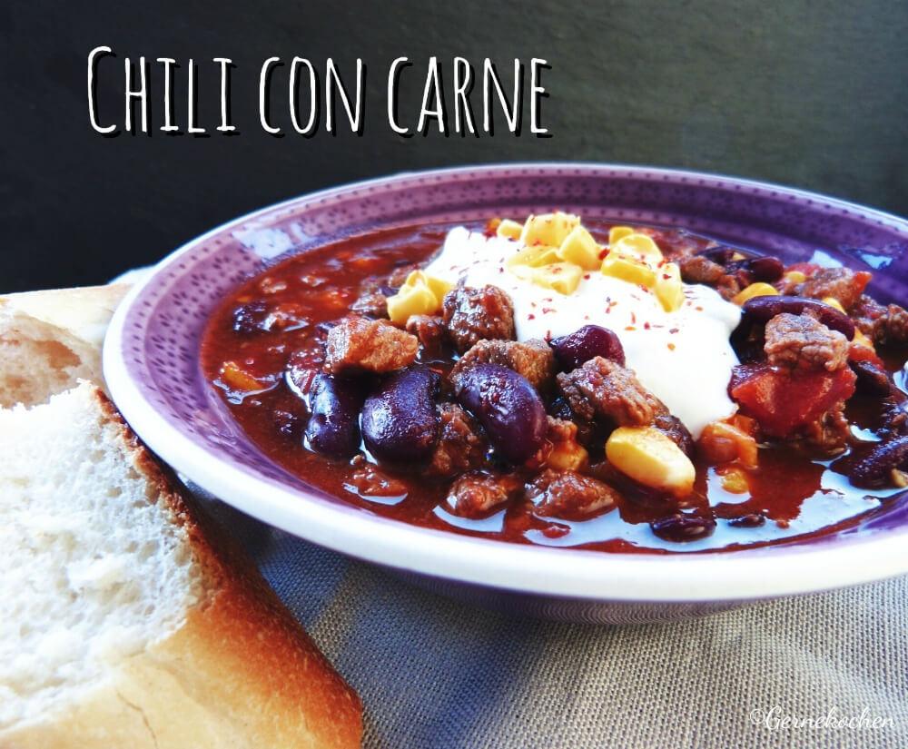 Rezept Chili Con Carne Milde Schärfe Voller Geschmack