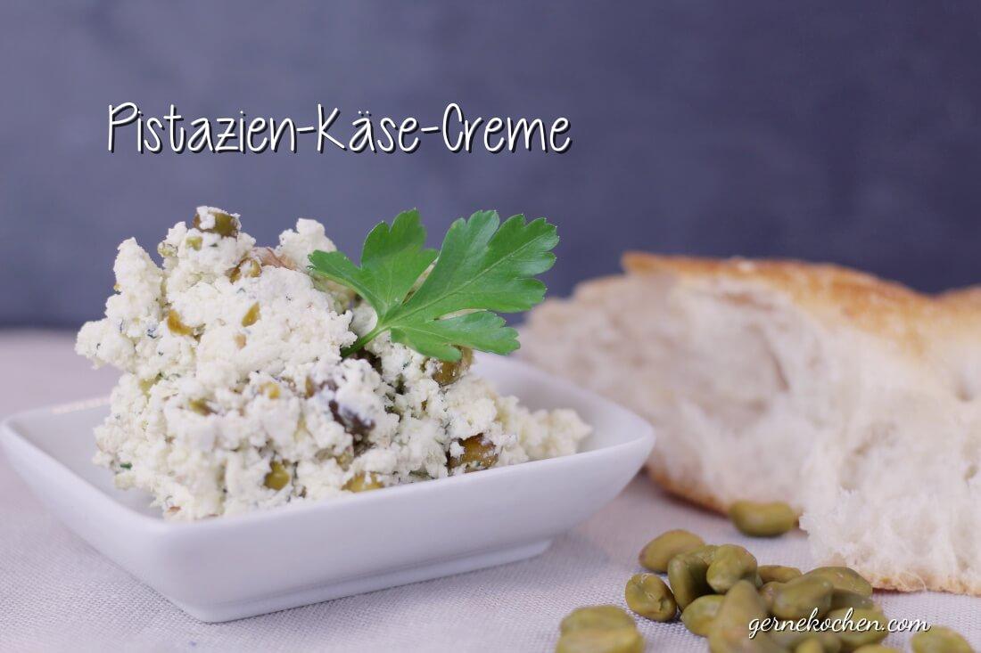 Meze: Pistazien-Käse-Creme nach türkischer Art