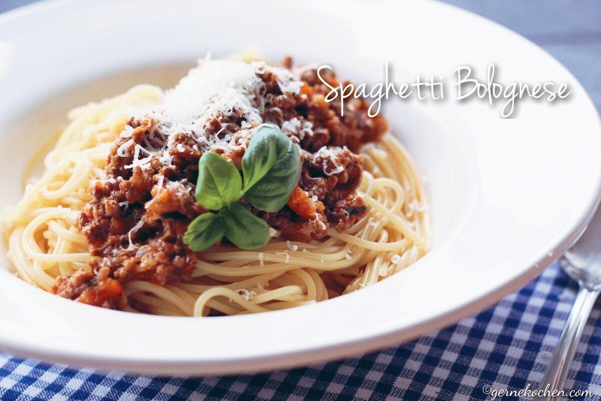 rezept spaghetti bolognese. Black Bedroom Furniture Sets. Home Design Ideas