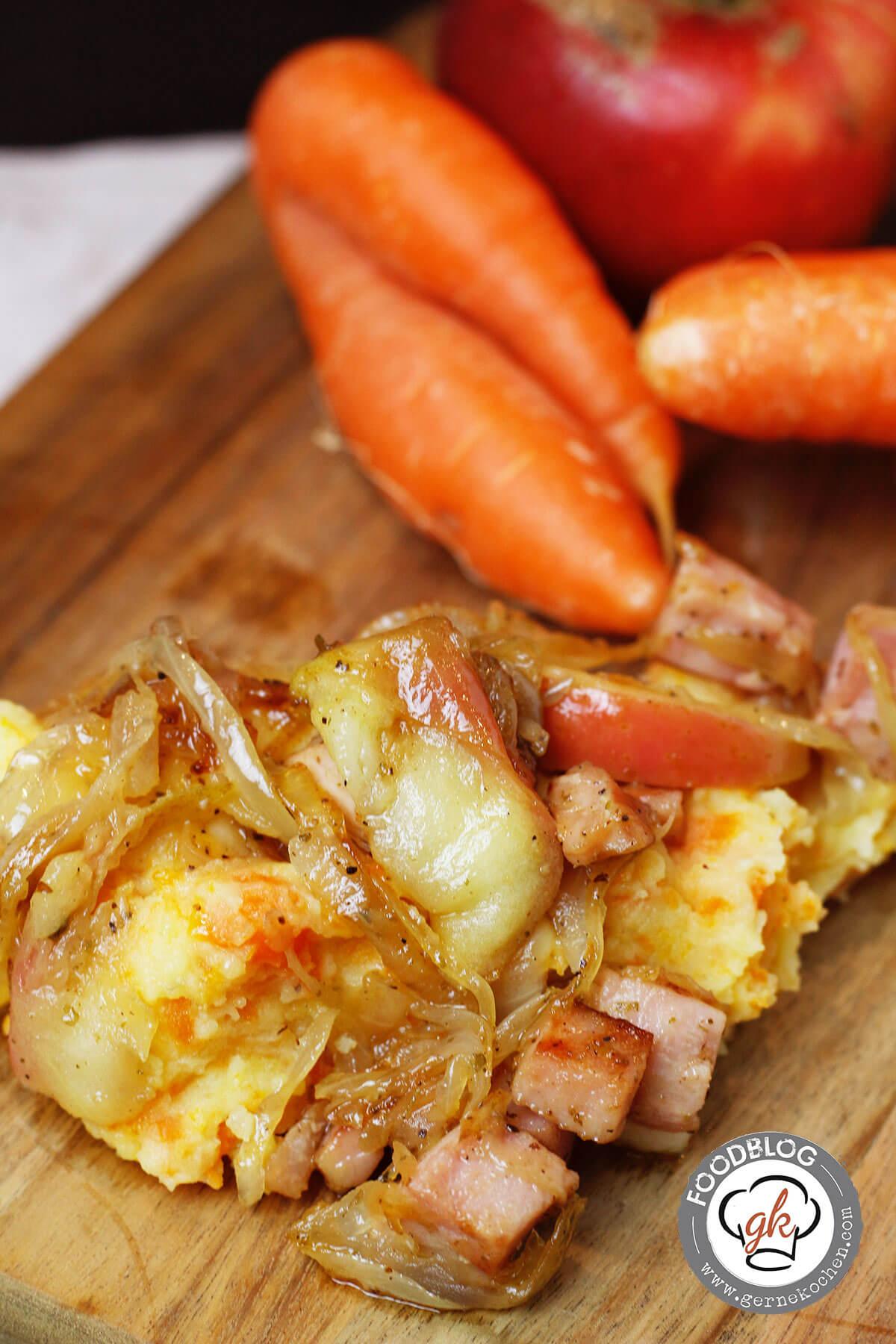 Karotten Kartoffel Stampf