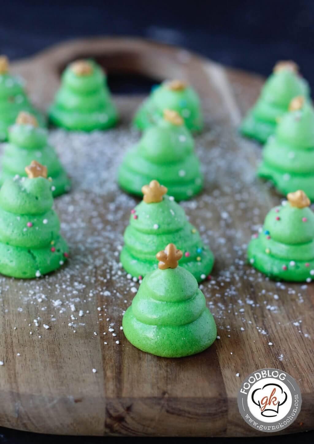 Rezept: Baisertännchen - Geschenke aus der Küche