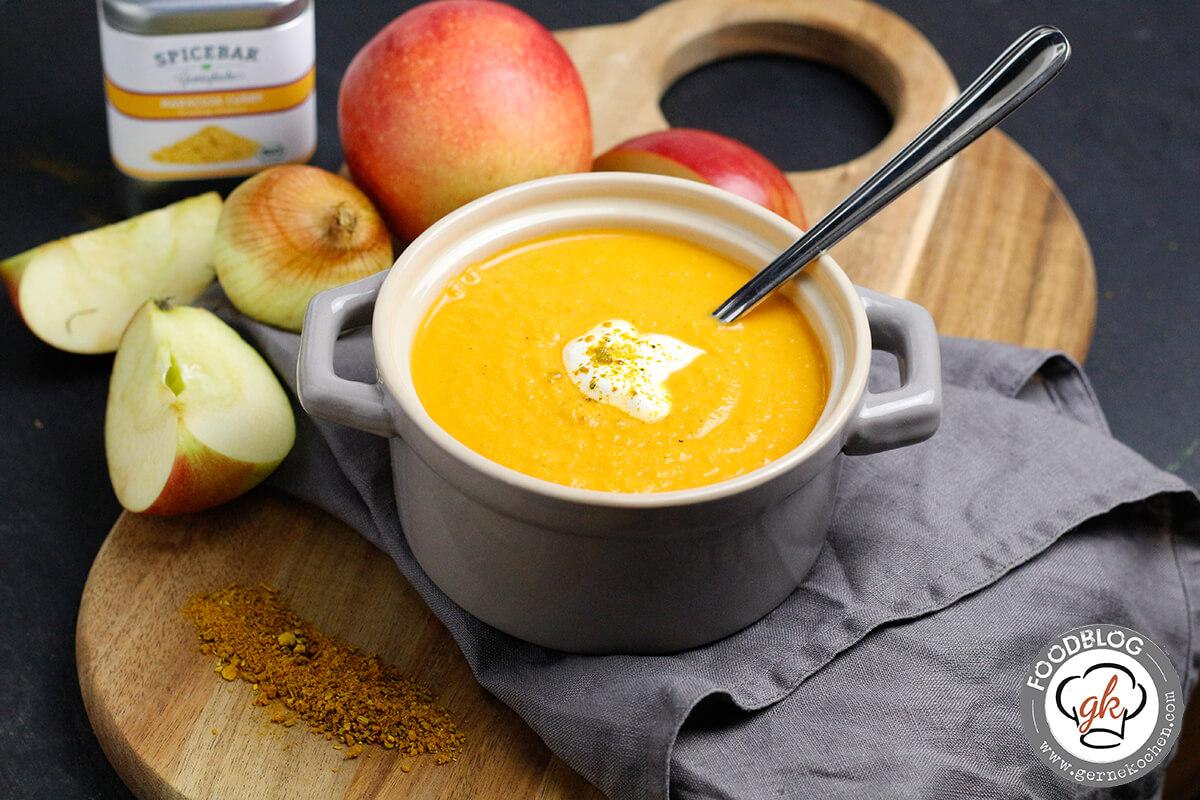 Apfel-Curry-Suppe – Einfach + Schnell = Lecker!