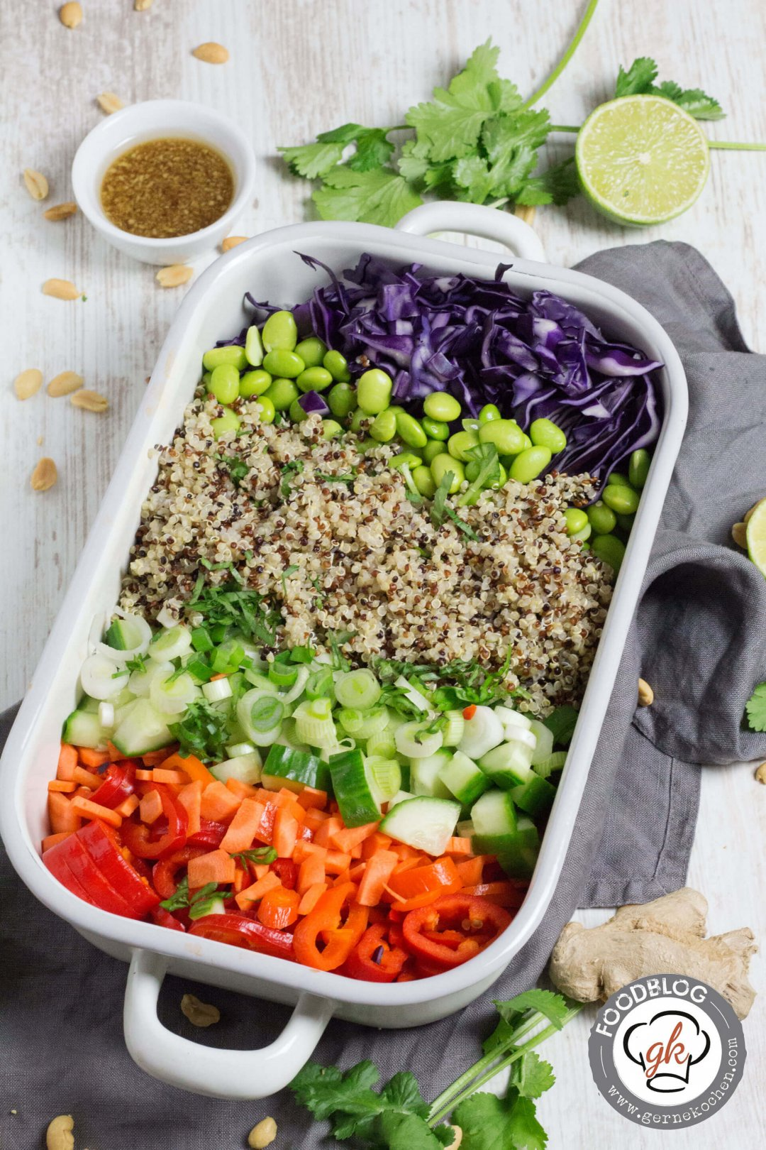 Thai-Quinoa-Salat