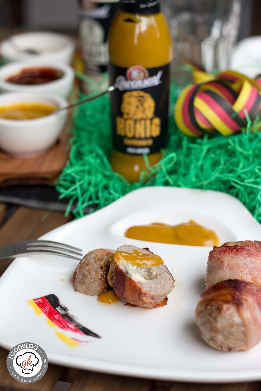 rezept bacon wrapped balls mit l wensenf honig senf sauce. Black Bedroom Furniture Sets. Home Design Ideas