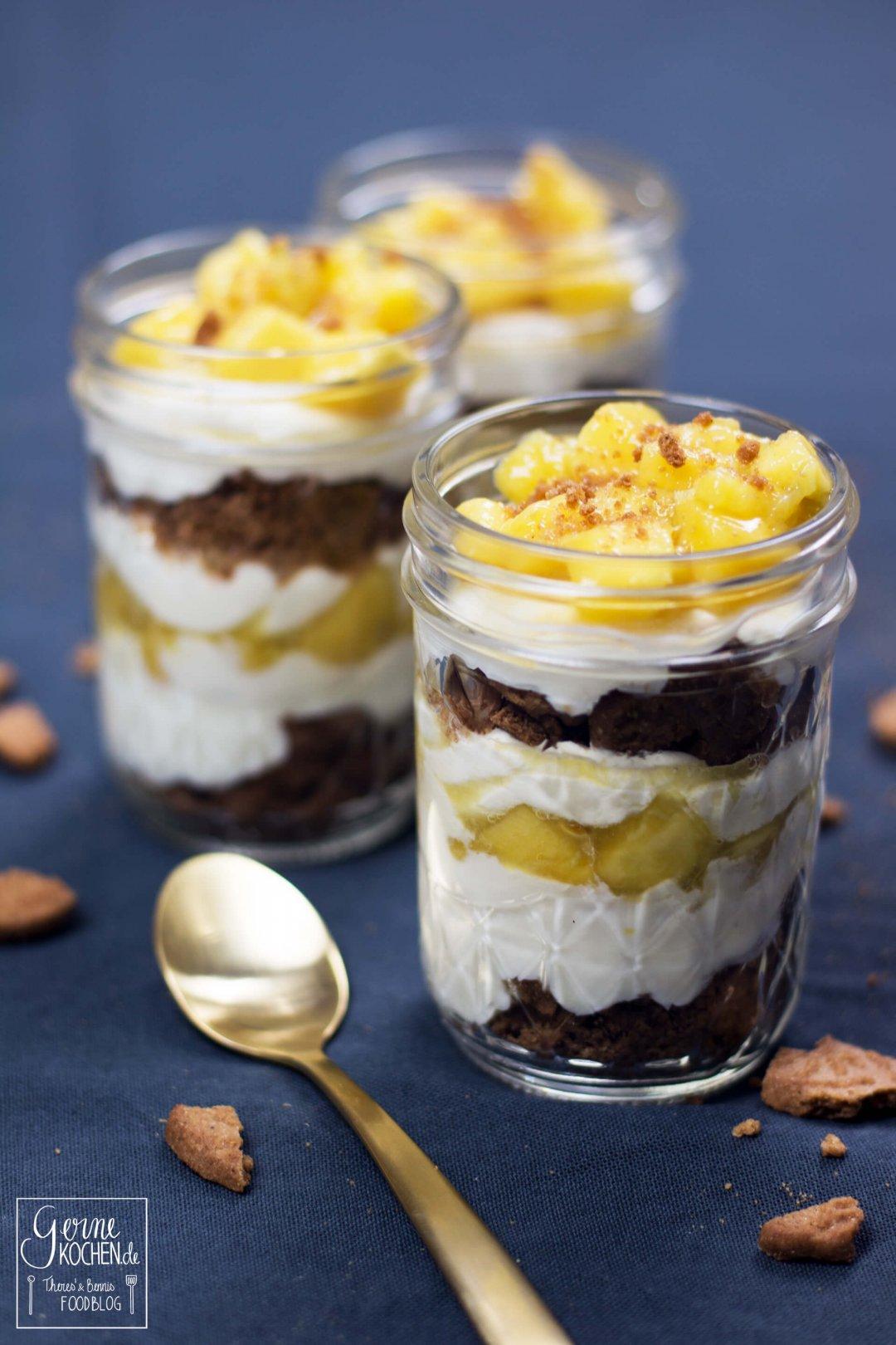 rezept spekulatius mango ingwer dessert gernekochen. Black Bedroom Furniture Sets. Home Design Ideas