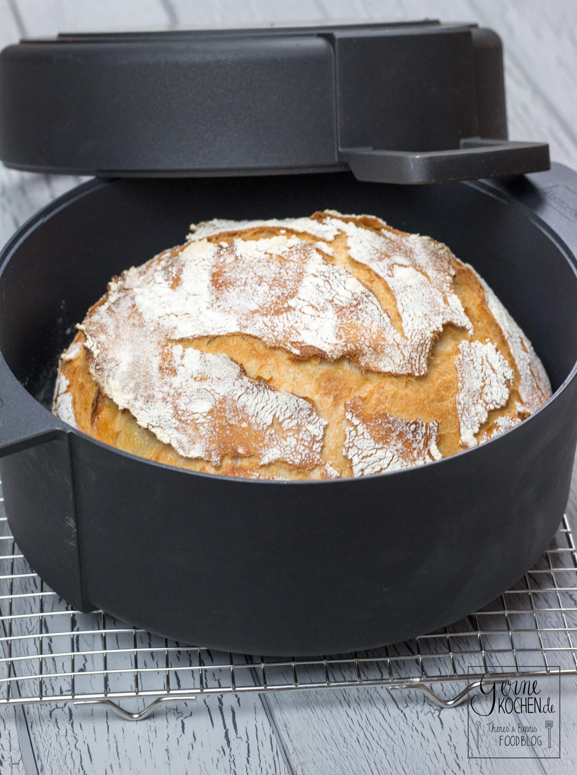 No-Knead-Bread – Alter Hut, aber immer noch gut