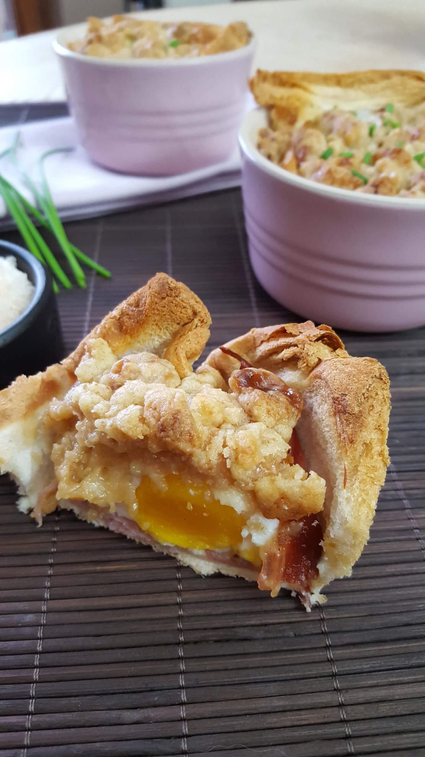 Es ist Zeit für unsere 10. Gäste: Cat & Onkel von Schlemmerkatze bringen uns Toast-Muffins mit Ei