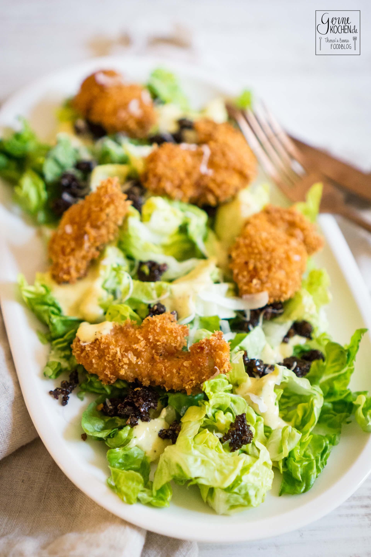 rezept caesar salad nach gernekochen art. Black Bedroom Furniture Sets. Home Design Ideas
