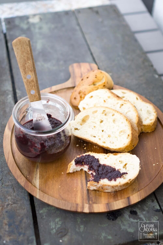 Rezept: Blueberry-BBQ-Sauce mit Whiskey