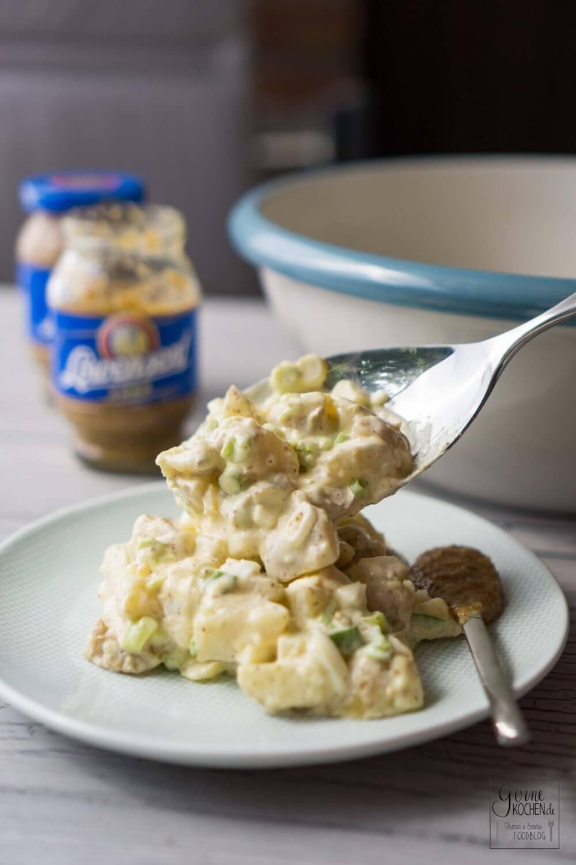 Kartoffelsalat mit süßem Senf