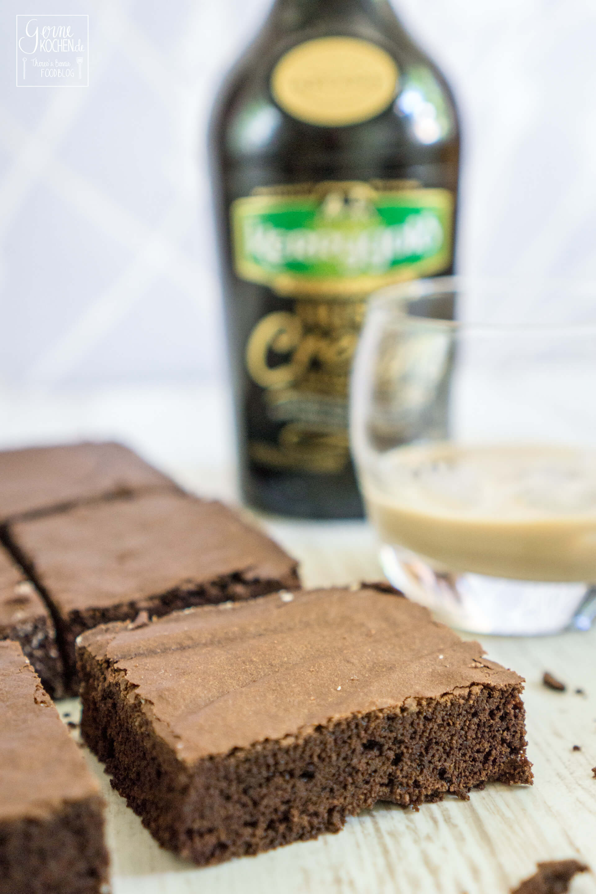 rezept kerrygold irish cream brownies. Black Bedroom Furniture Sets. Home Design Ideas