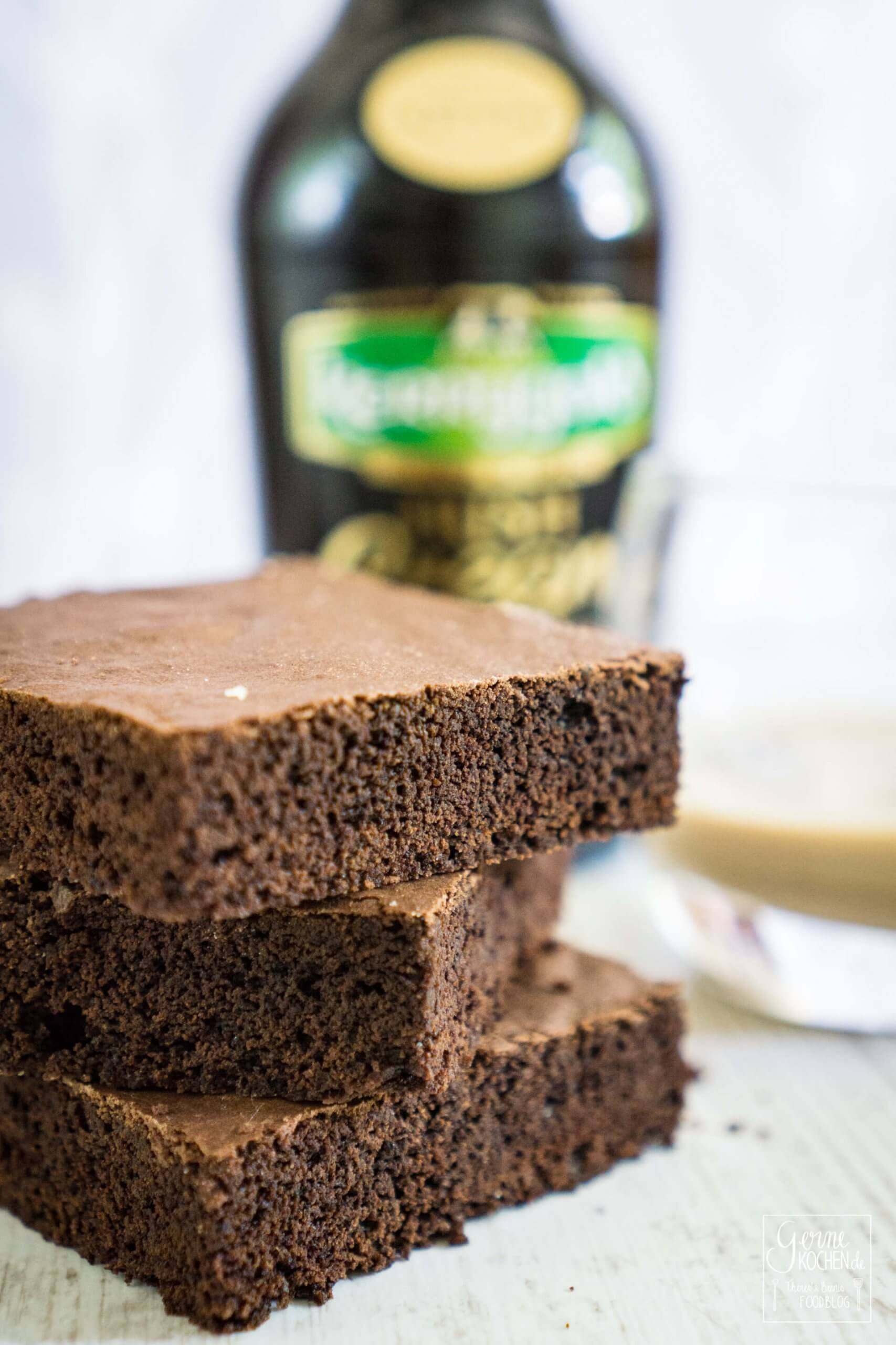 Irish cream Brownie