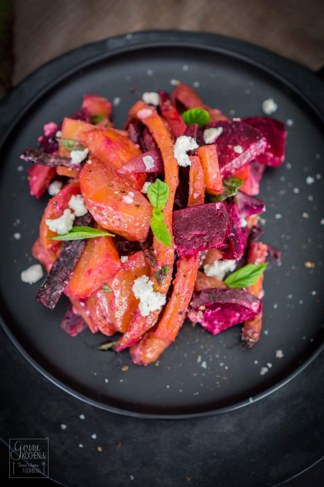 Bunte Beete Salat