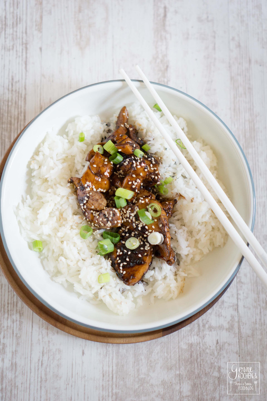 Shoyu-Chicken – ein ganz einfaches Hähnchengericht