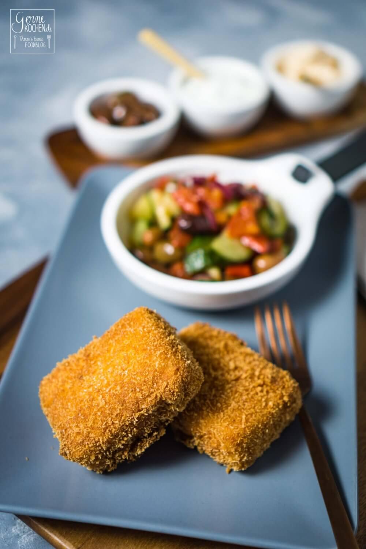 Rezept: Saganaki - gebackener Feta wie vom Griechen - gernekochen.de