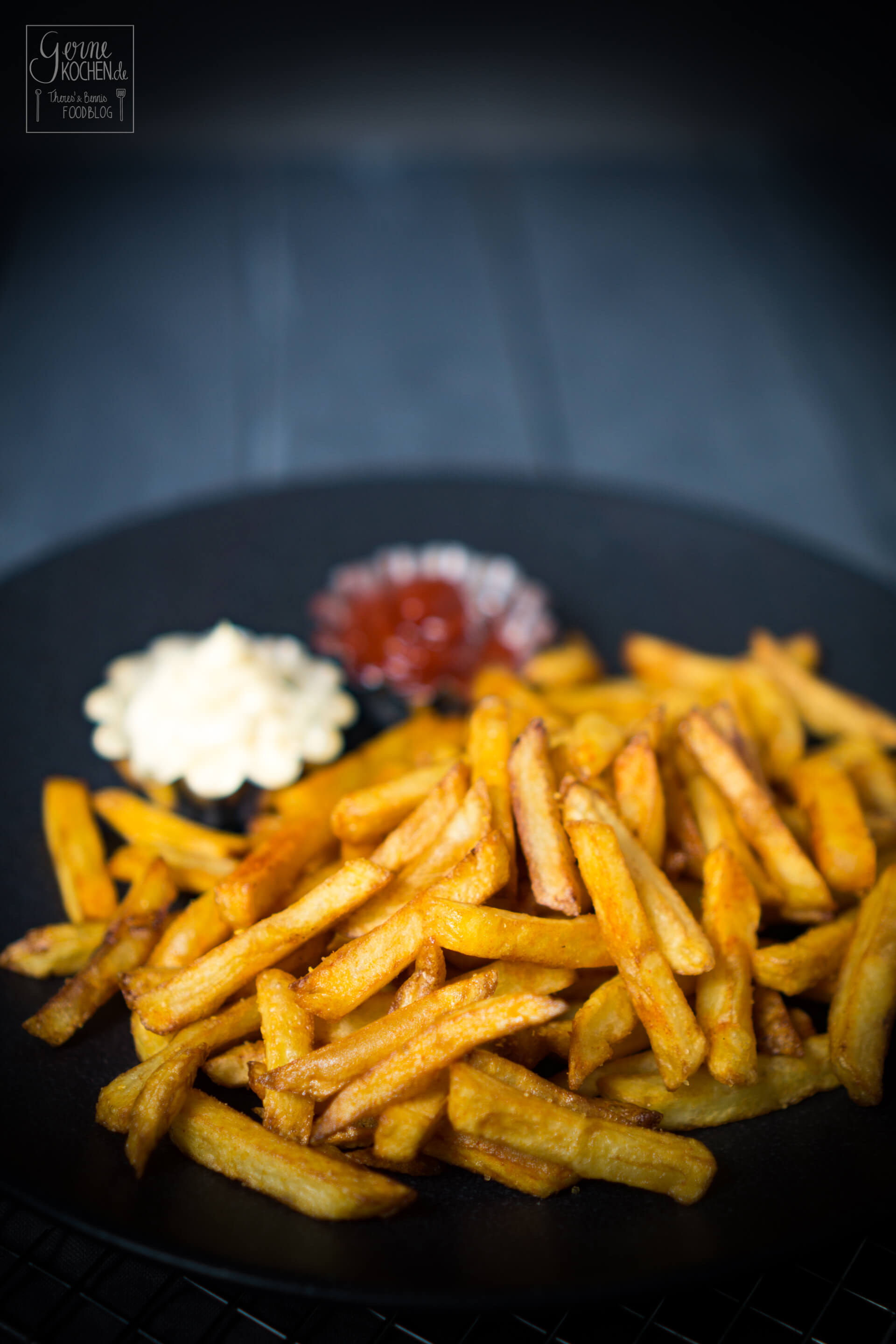 selbstgemachte Pommes