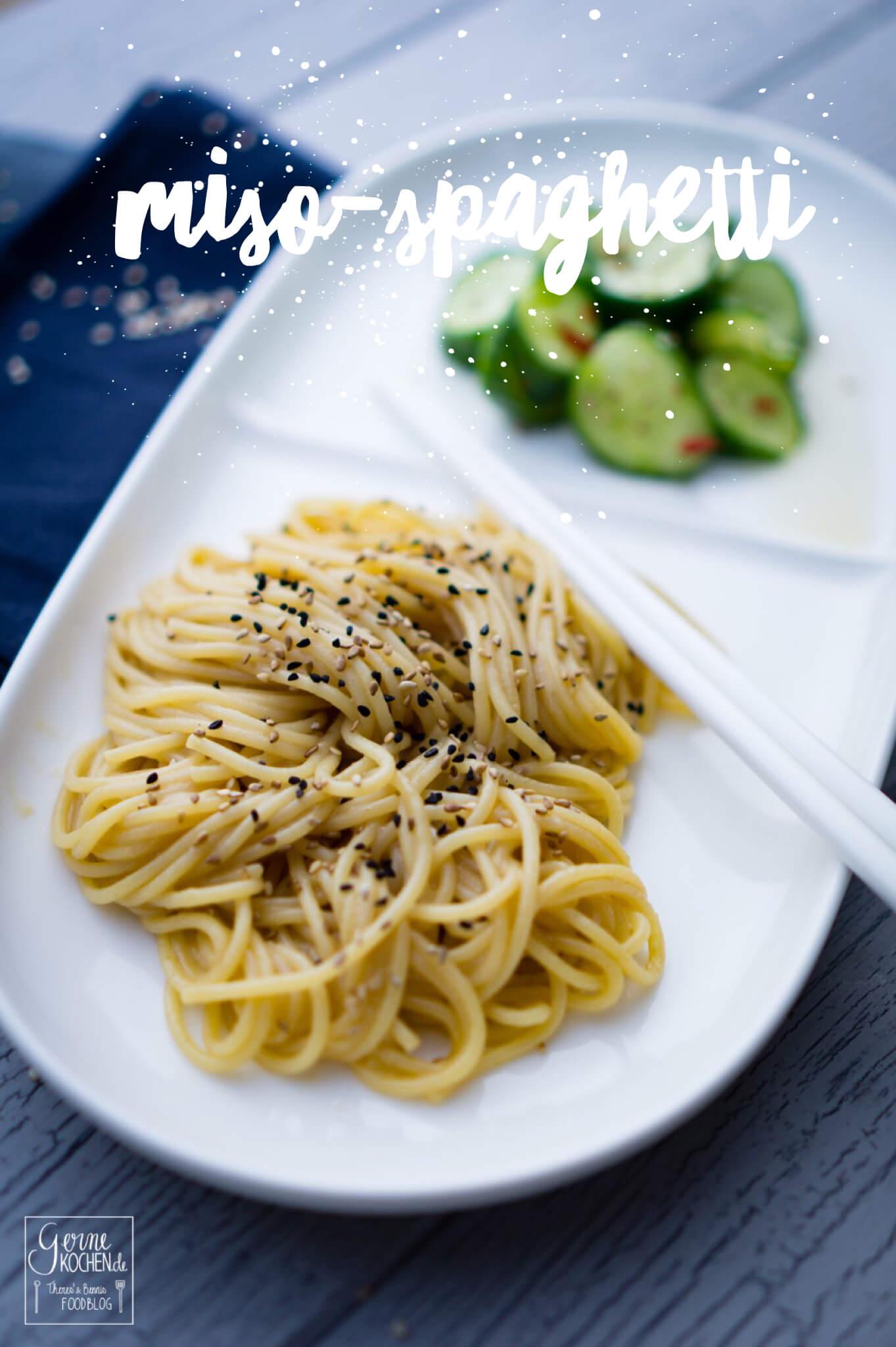 Miso-Spaghetti