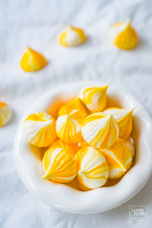 Rezept Zitronen Baiserkusschen Oder Lemon Meringue Gernekochen De