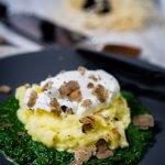 Kartoffelpüree mit Rahmspinat 1