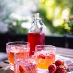 Erdbeer-Limetten-Gin