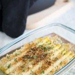 Spargel mit Parmesan-Haselnuss-Kruste