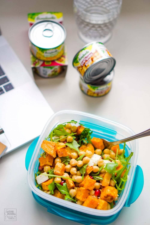 Rezept Süßkartoffelsalat Super Zum Mitnehmen Gernekochende