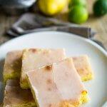 Zitronenkuchen mit Grilllimetten-Guß