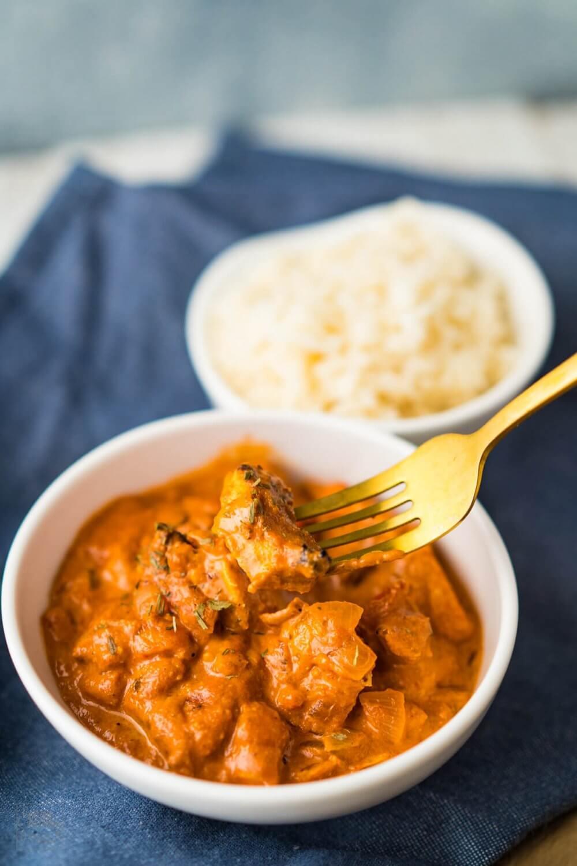 Rezept Chicken Tikka Masala Indisches Gericht
