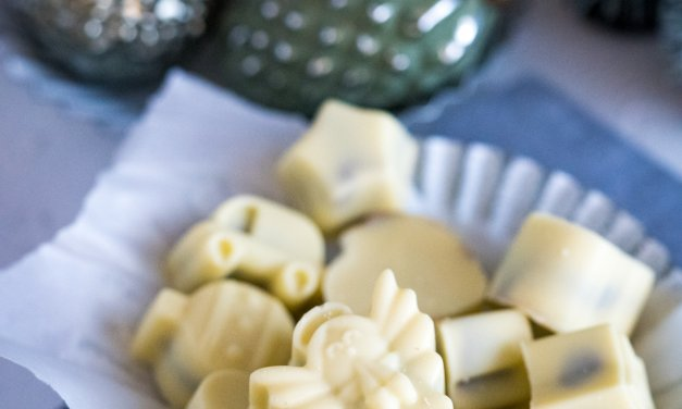 Knusperpralinen – weiße Schokolade mit Nougatkrokant
