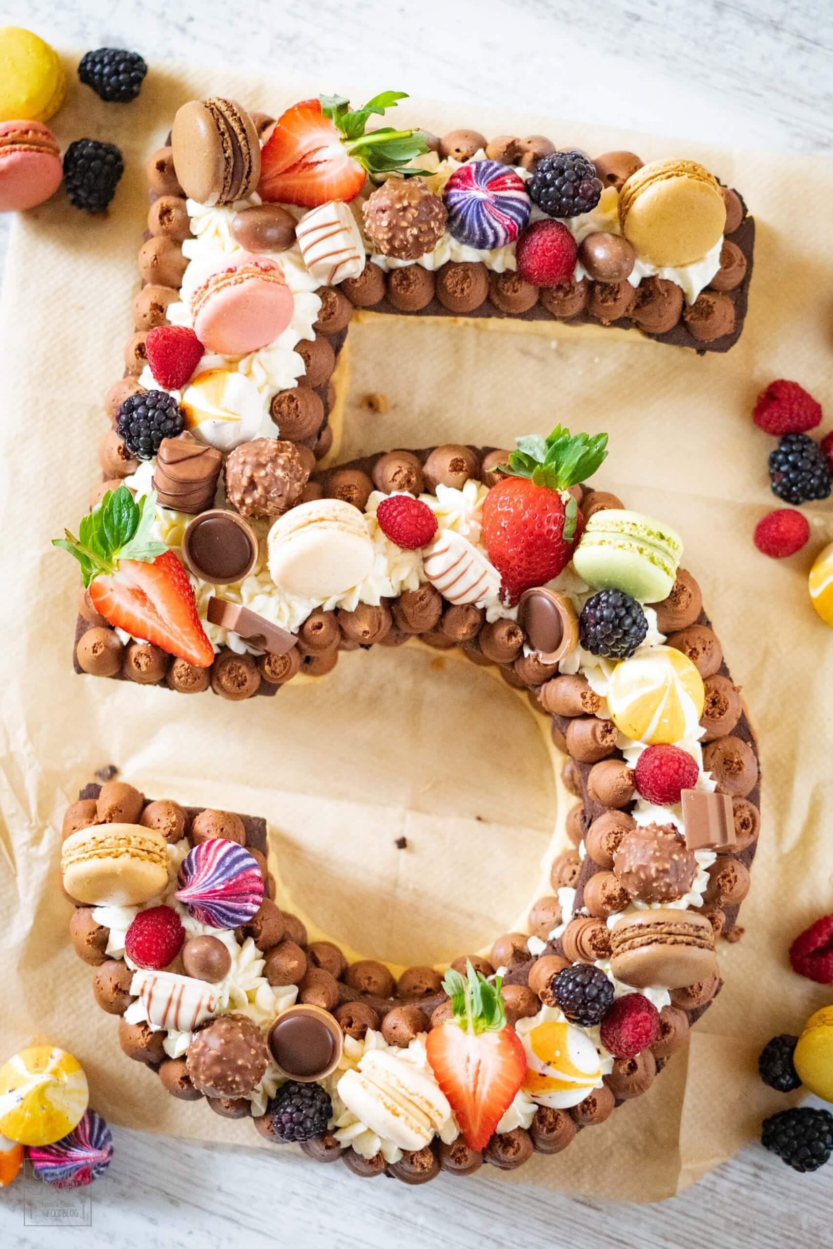 Happy Birthday, Gernekochen!!!! Wir feiern Dich mit einem Number Cake!