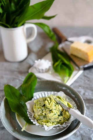 Bärlauch-Parmesan-Butter