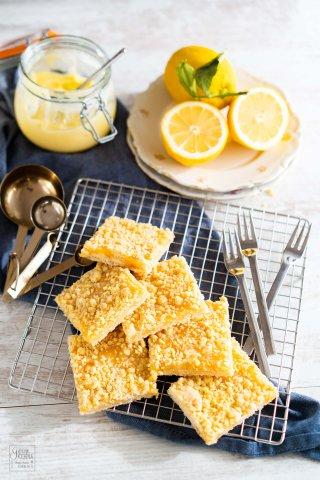 Zitronenstreuselkuchen