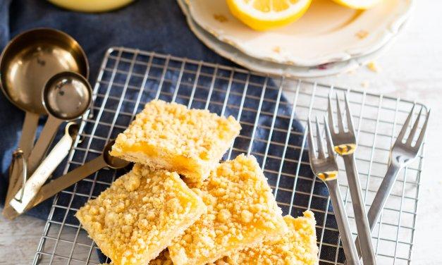 Zitronenstreuselkuchen – so schnell und einfach
