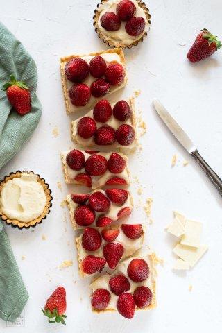 Erdbeeren-tarte
