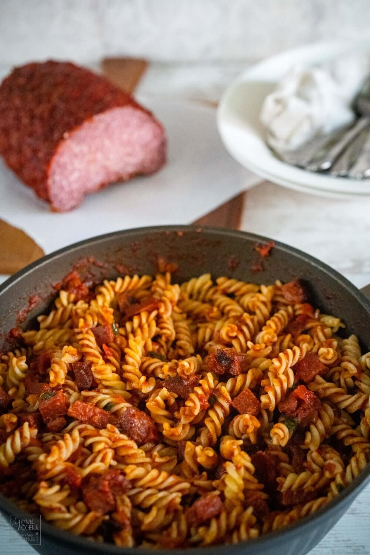 pikante pastasauce