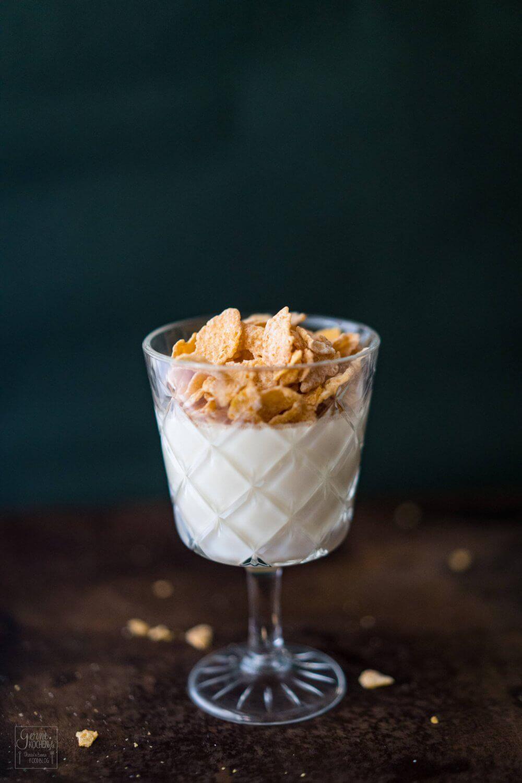 Cornflakes Panna Cotta oder eher Latte Cotta?! (enthält Werbung)