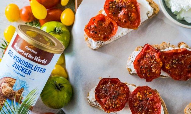 Karamellisierte Tomaten mit Kokosblütenzucker