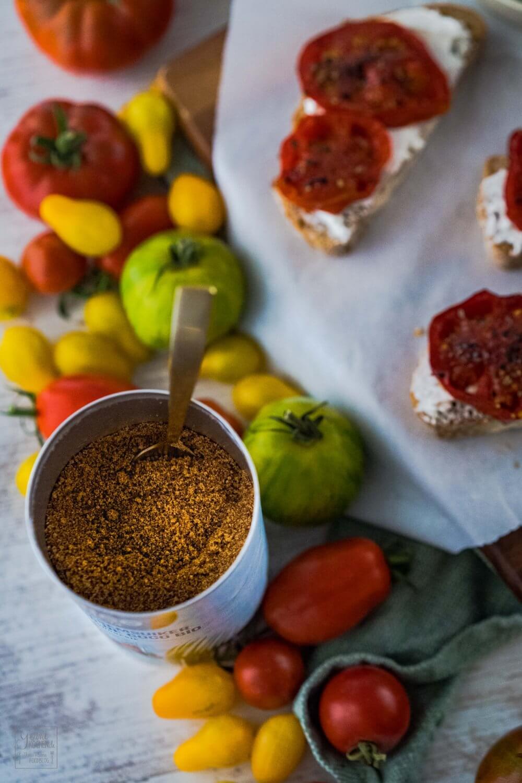 Karamellisierte Tomaten