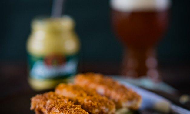 Grünkohl mit Senf-Kartoffelpüree und Kasselersticks