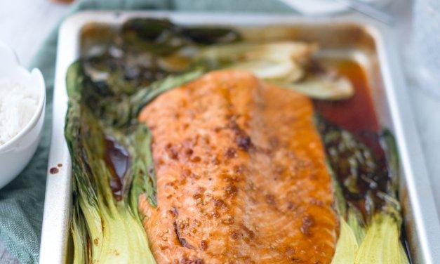 Lachs mit Ahornsirup-Sojasauce-Glasur – Unsere schnellste Marinade