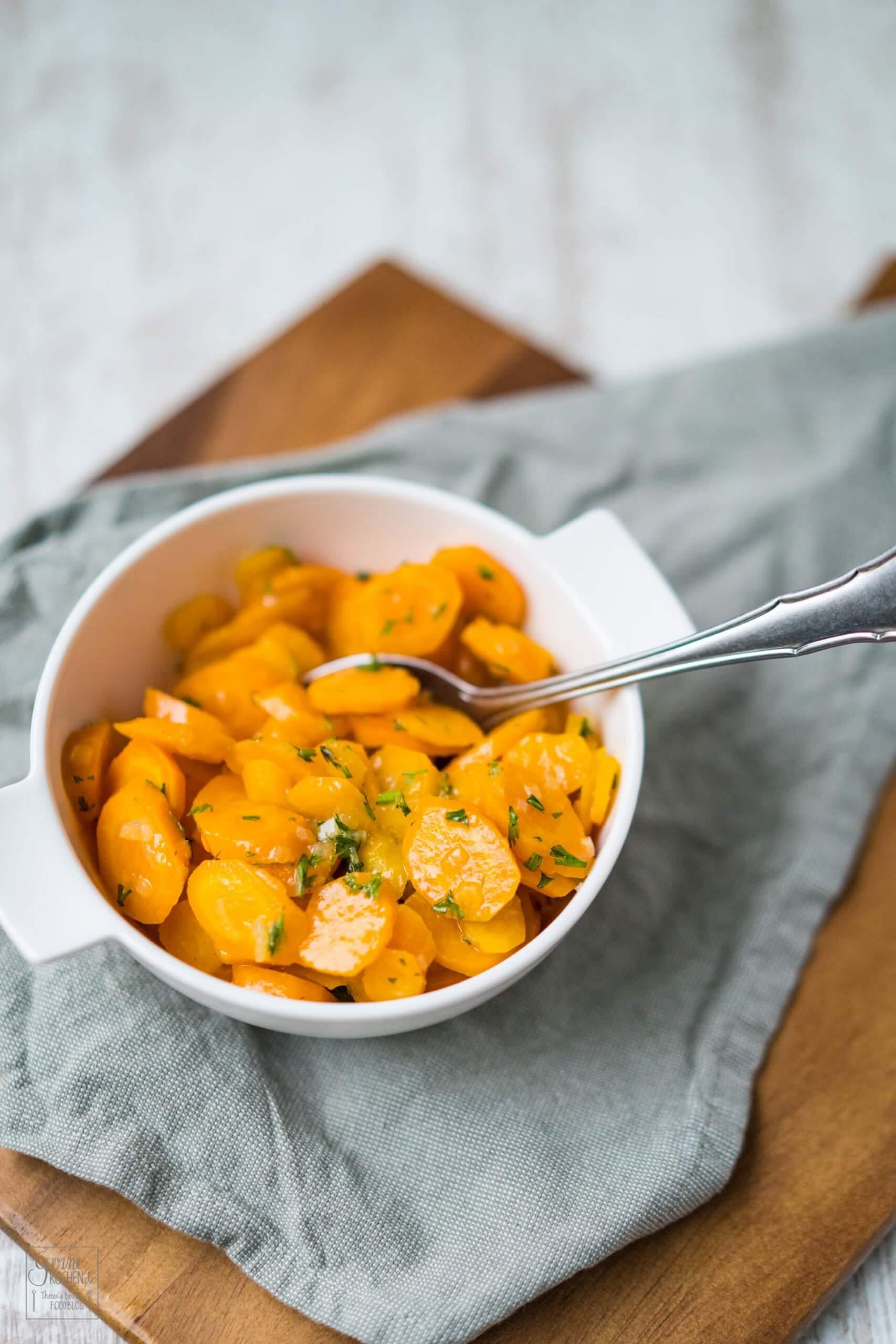 Vichy Karotten – Schnelle Beilage
