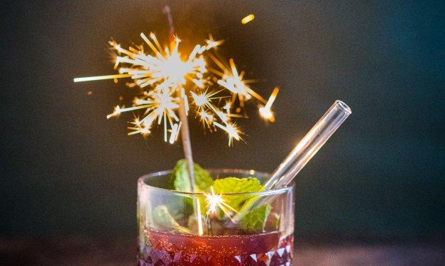 Kirsch-Apfel-Tonic alkoholfrei ins neue Jahr