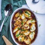 Conchiglie – Muschelnudeln gefüllt mit Mozzarella