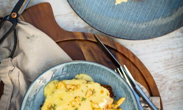 Ofen-Camembert mit Brioche