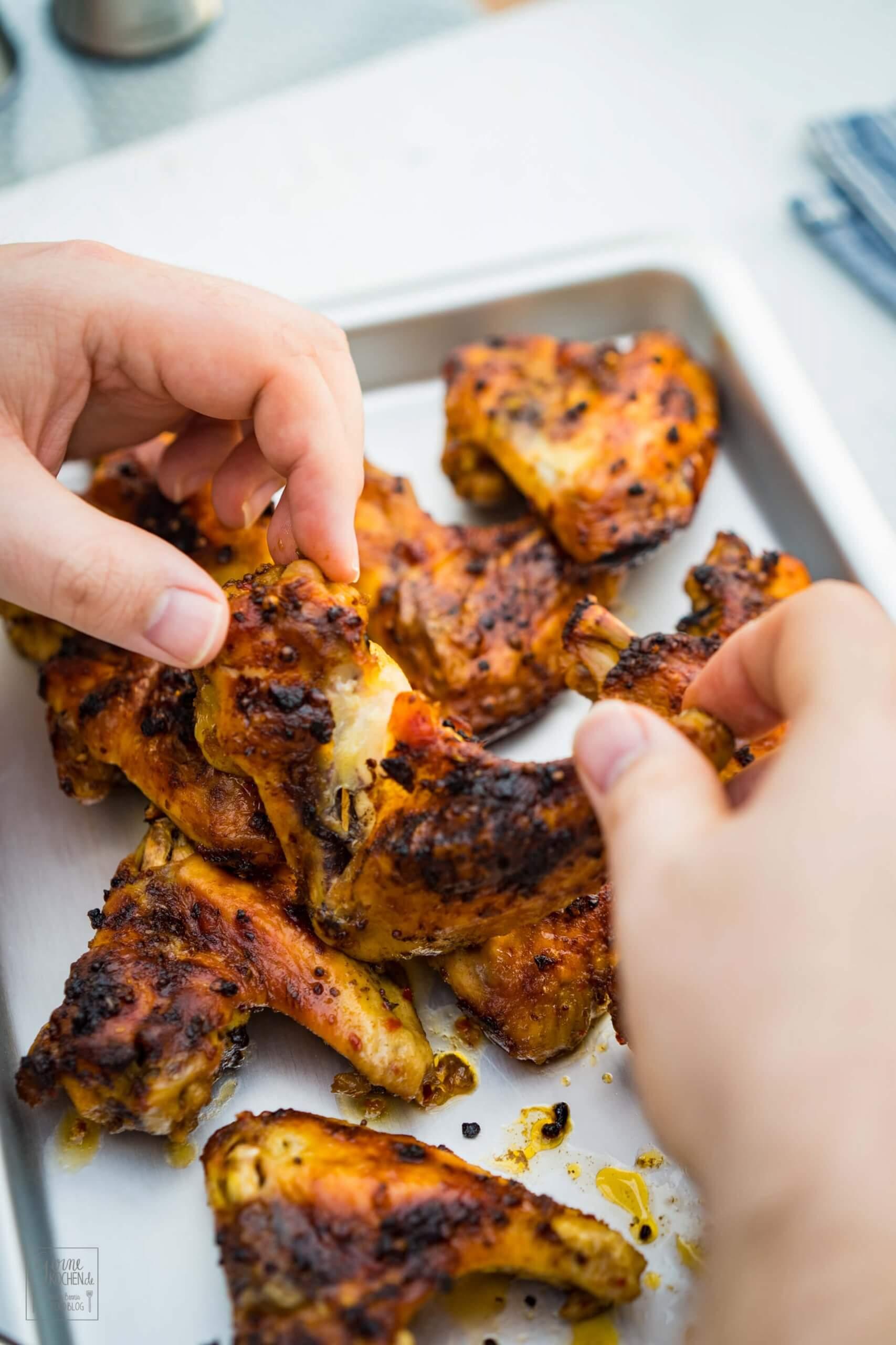 Spicy Chicken Wings – Einfacher geht es kaum