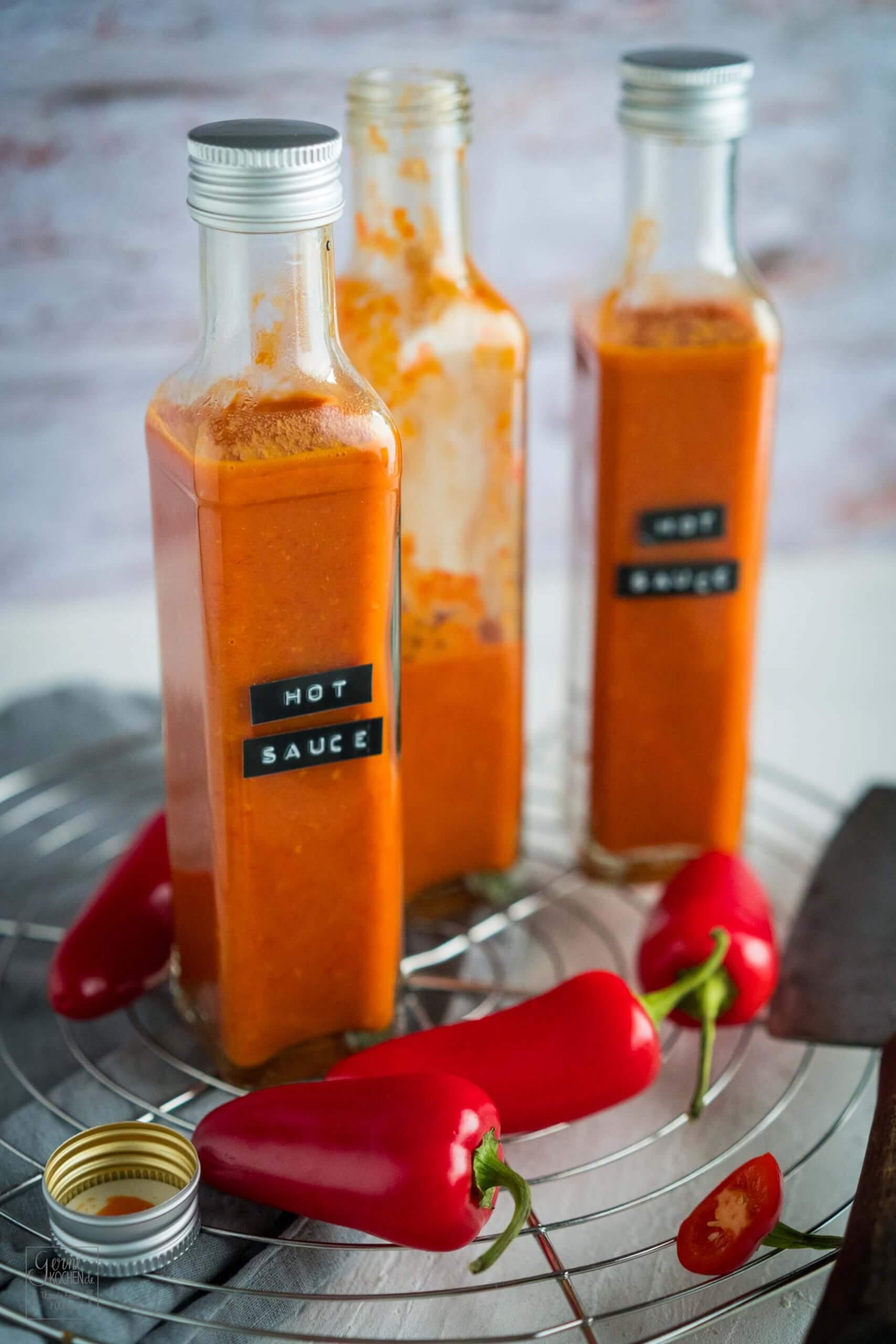 Hot Sauce im Buffalo Style